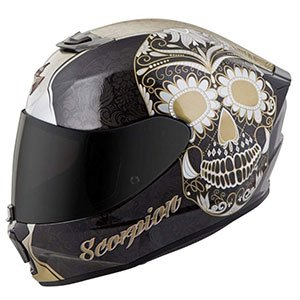 75-1137L Unisex Sugar Skull Helmet product image