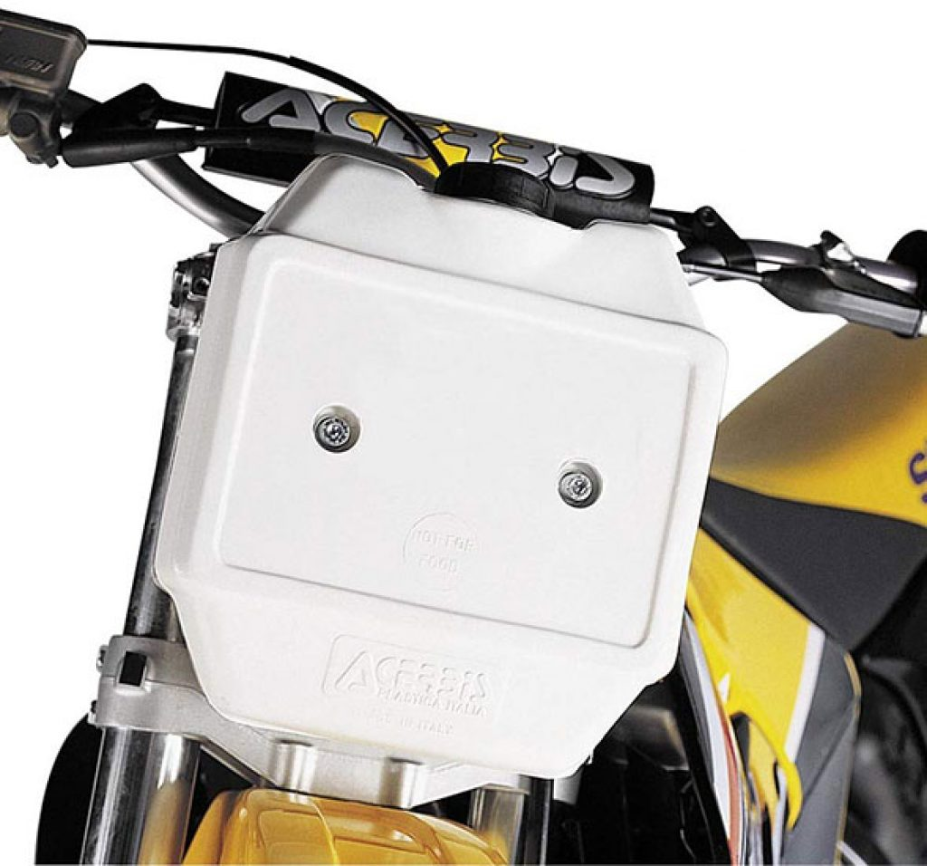 Front Auxiliary Fuel Tank
