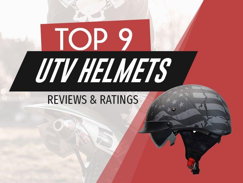 TOP 9 UTV HELMETS