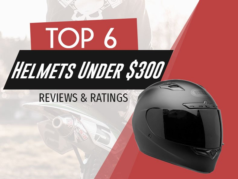 best rated motorcycle helmet under 300