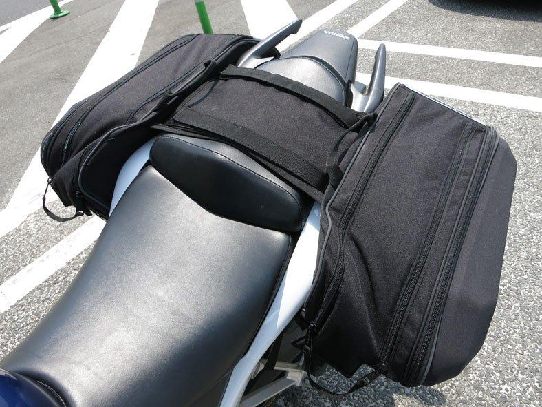 image of throw over saddlebag kit