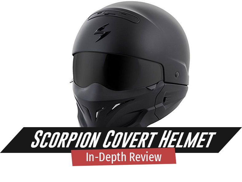 our review of the scorpion covert helmet