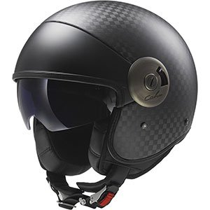 product image od LS2 carbon open face helmet