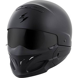 product image of EXO Covert Unisex-Adult Half-Size-Style Matte Black Helmet