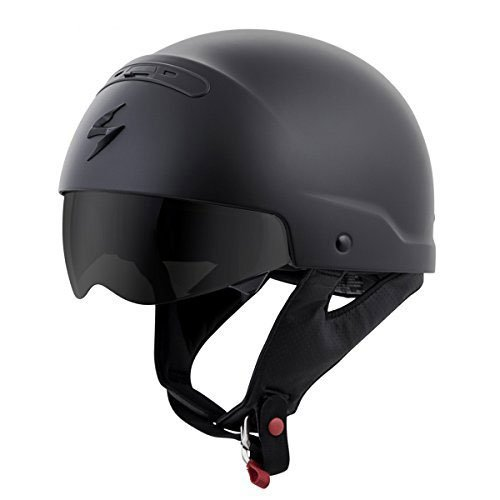 product image of the scorpion open face helmet
