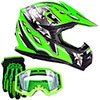 small product image of Youth Kids Offroad Gear Combo Helmet