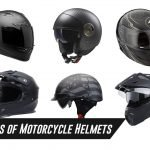 ALL TYPES OF HELMETS FOR MOTORCYCLE