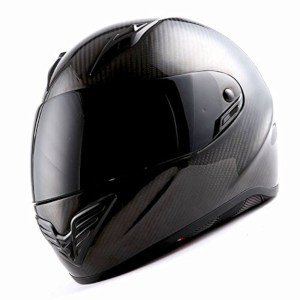 PRODUCT IMAGE OF MARS Genuine Carbon Fiber Motorcycle HELMET