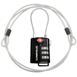 SMALL PRODUCT IMAGE OF THE TSA Approved Cable Luggage Lock