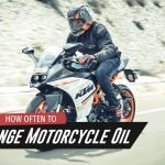 When should you change the motorcycle oil