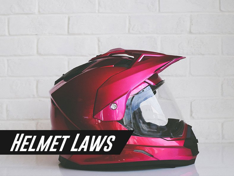all about helmet laws in america