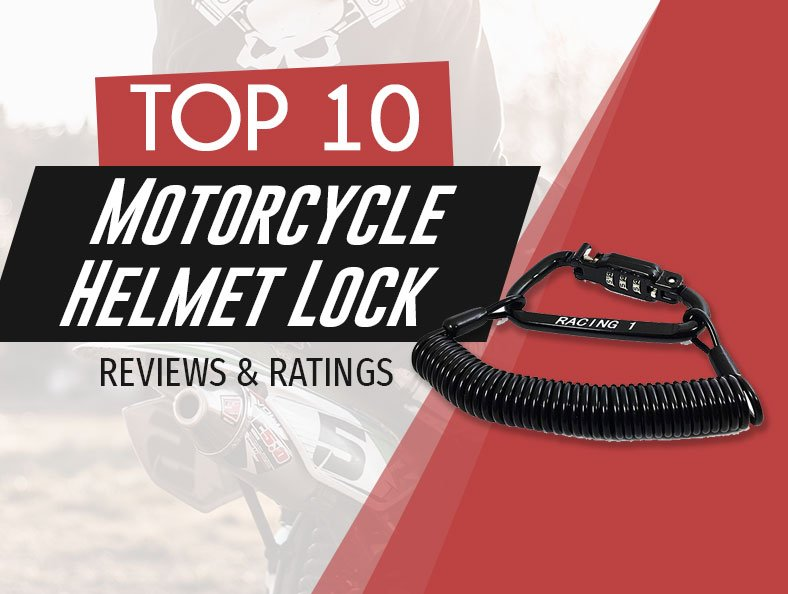best rated motorcycle helmet lock