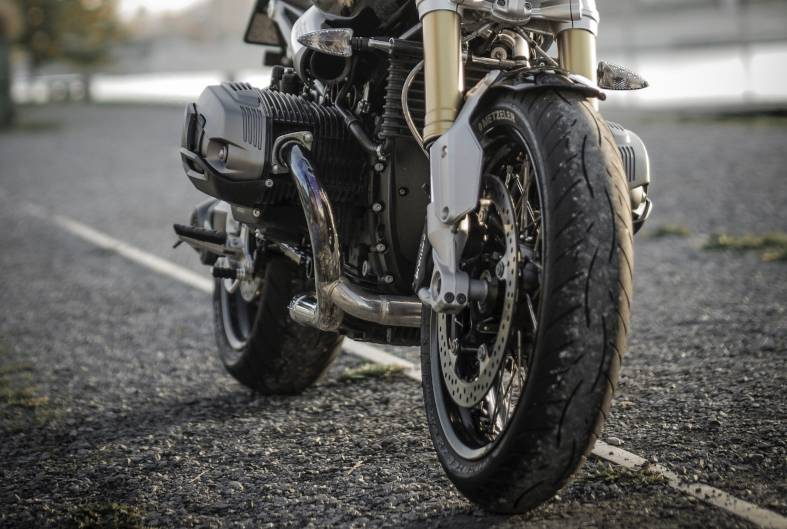 close-up photo of motorcycle tires