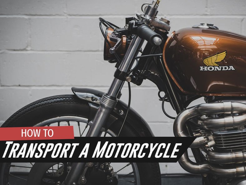 how you can transport a motorcycle