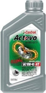 product image of Castrol 06130 Actevo 10W-40 Motorcycle Oil