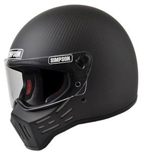product image of Simpson M30 Bandit DOT Satin Carbon Fiber Motorcycle Helmet