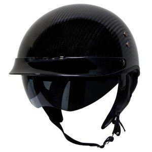 product image of Voss 888CF Genuine DOT Half Helmet