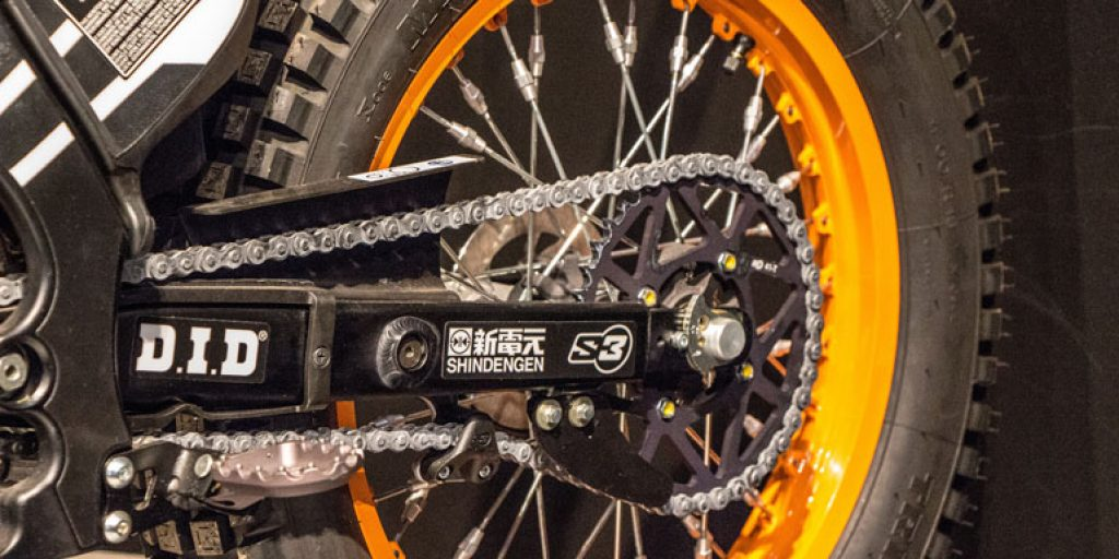 Motorcycle Wheel Chain