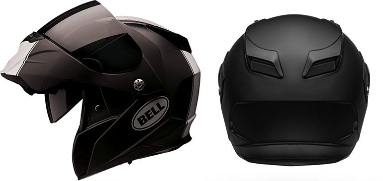 Design and shape of bell revolver evo helmet