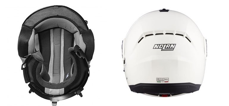 design of nolan N91 helmet image