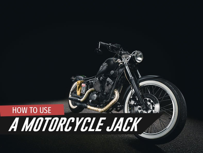 How To Use a Motorcycle Jack
