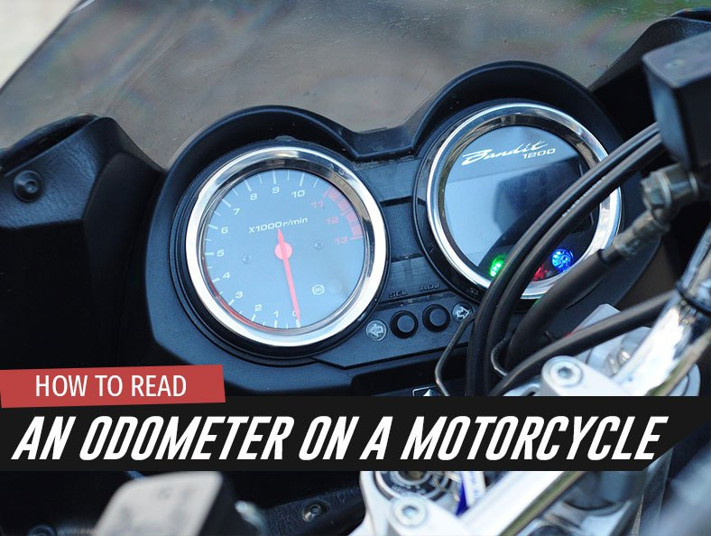 How to Read an Odometer on a Motorcycle
