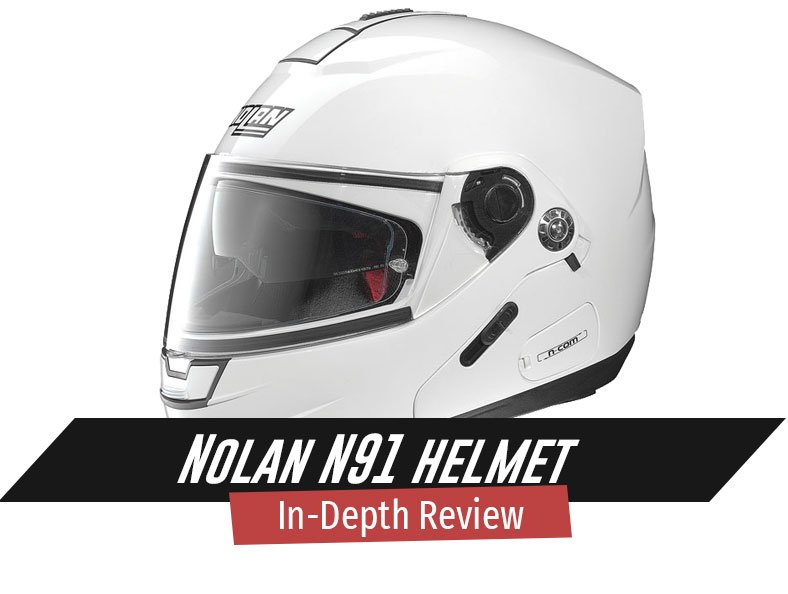 In depth Review of Nolan N91 helmet