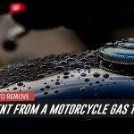 Our Guide On How To Remove A Dent From A Motorcycle Gas Tank