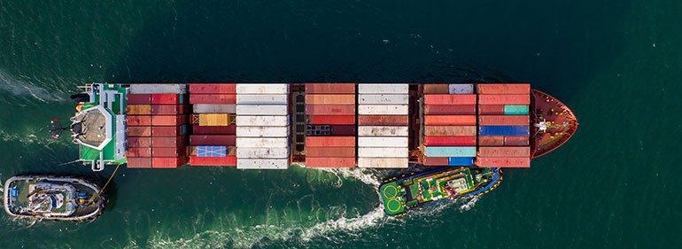 Shipping Across the Ocean