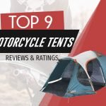 motorcycle camping tent image