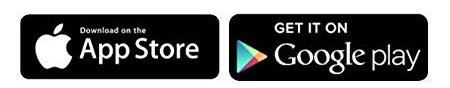 App Store and Google Play App Logos