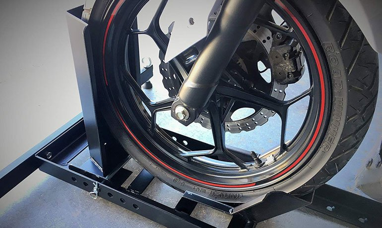 Ideal Chock Size For a Motorcycle Tire