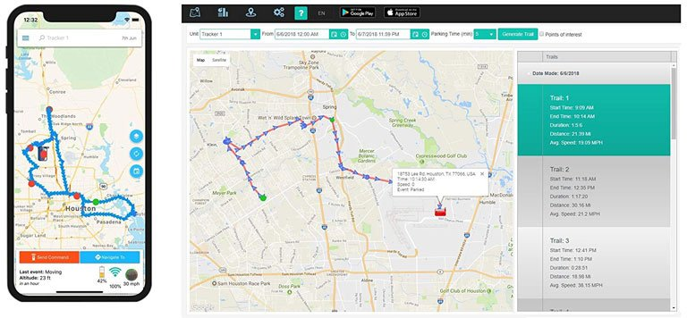 Tracking History View
