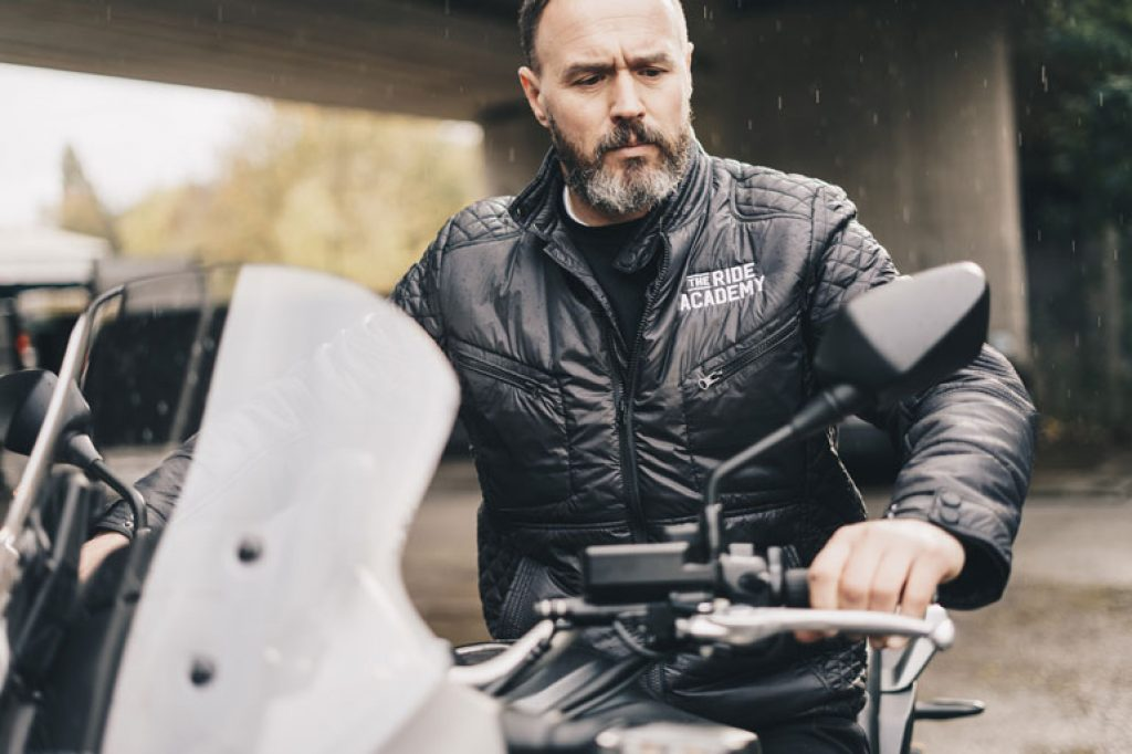 image of waterproof motorcycle jacket