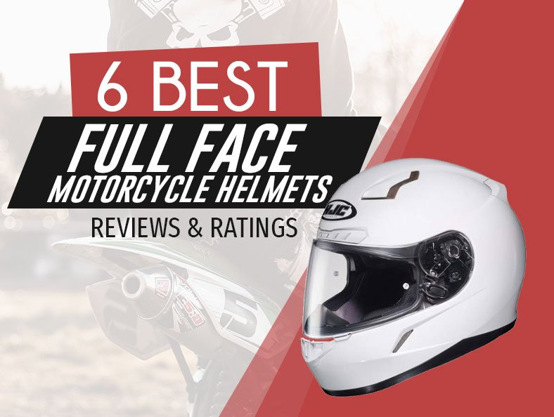 Highest Rated Full Face Motorcycle Helmets Reviewed