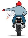 Slow Down Hand Signal