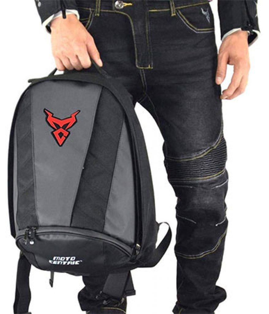 image of motorcycle backpack design