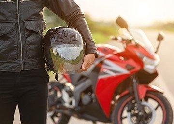 Motorcycle Helmet Category Background Image