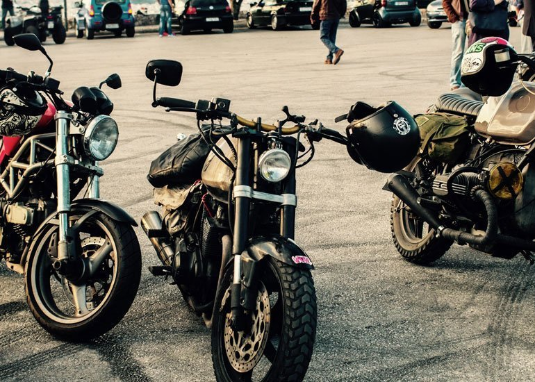 image of different type of motorbikes