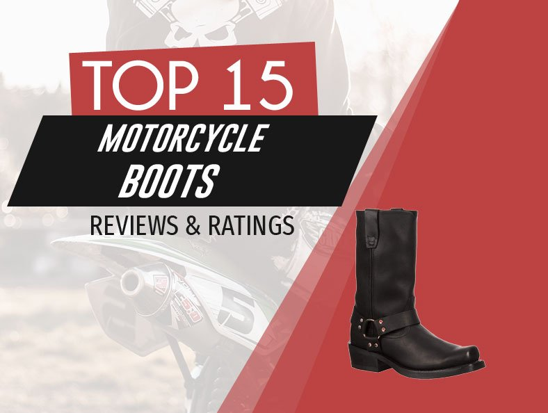 image of top rated motorcycle boots