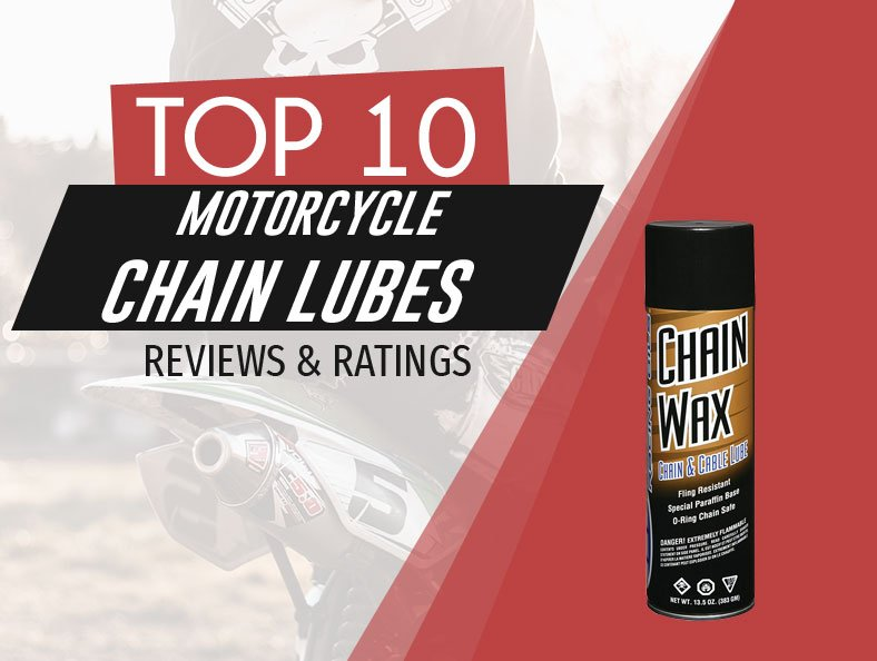 image of top rated motorcycle chain lubes