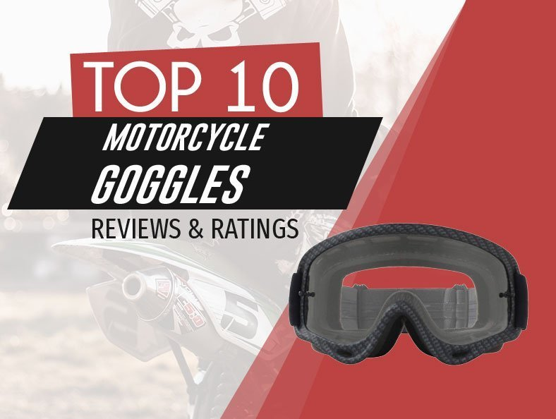 image of top rated motorcycle goggles