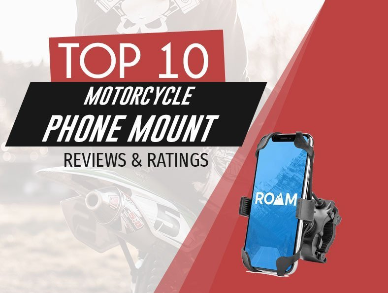 top rated motorcycle phone mount image