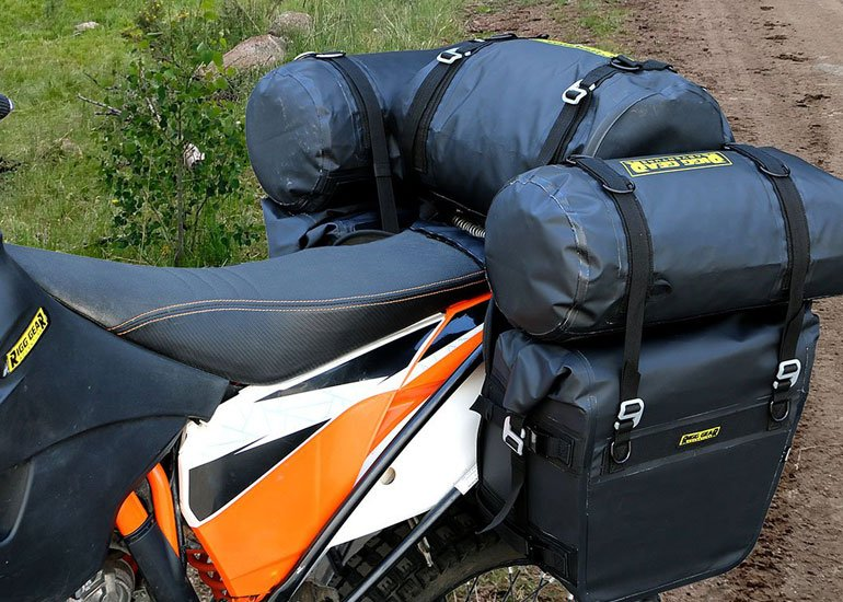 image of saddlebags with plenty of space