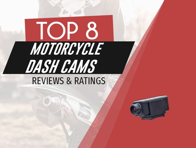 image of top rated motorcycle dash cams