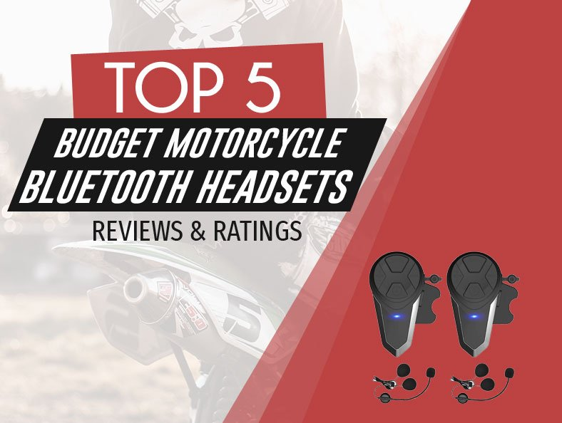 Image of top rated budget motorcycle bluetooth headsets