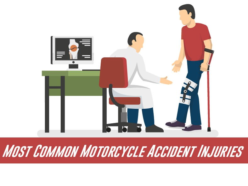 Most Common Motorcycle Accident Injuries