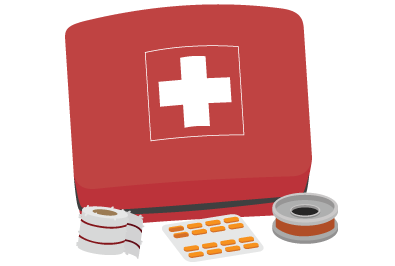 first-aid kit for motorcycle riders
