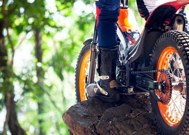 image of enduro motorcycle tires