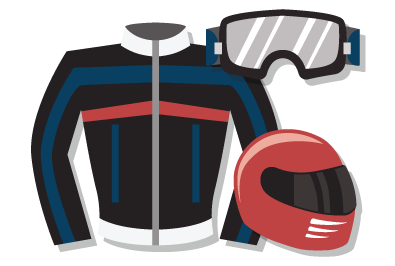 safety gear for motorcycle riders